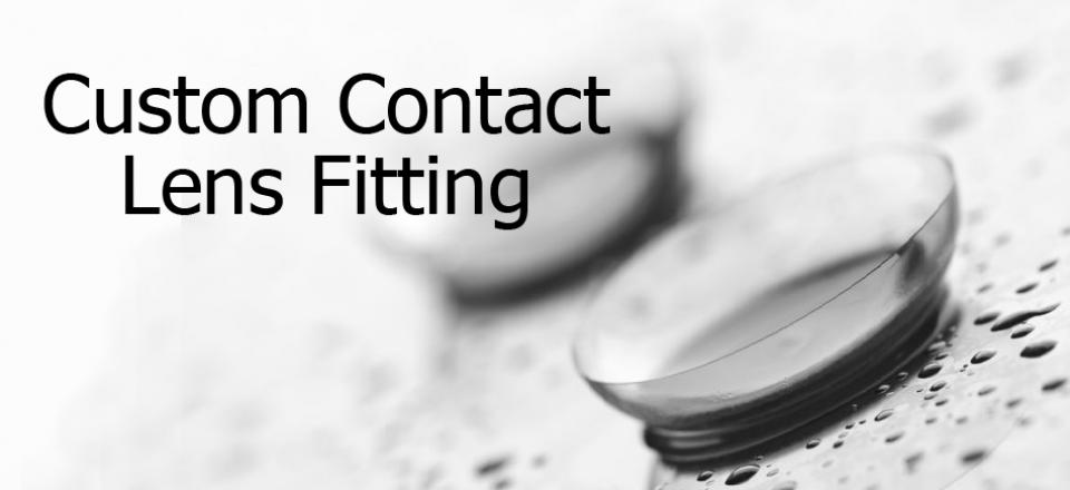 Custom Contact Lens Fitting