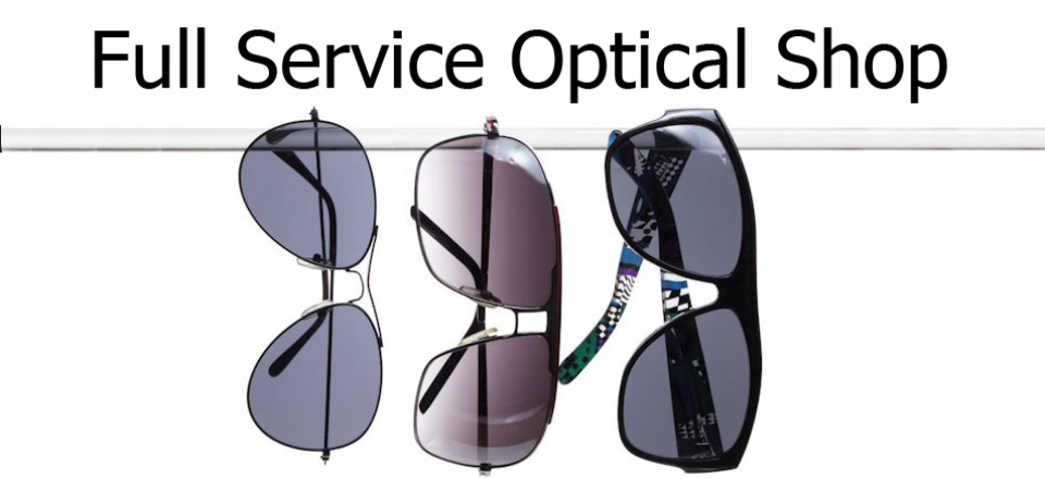 Full Service Optical Shop